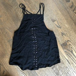Urban Outfitters Black Tank